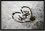 Cuore sulla neve.. :)