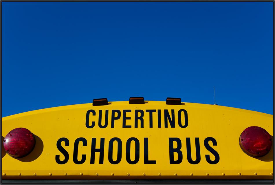 Cupertino School Bus