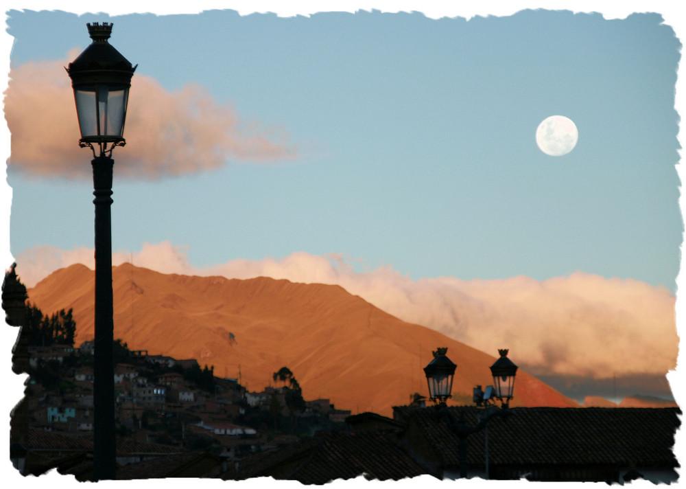 Cusco in der Demmerung