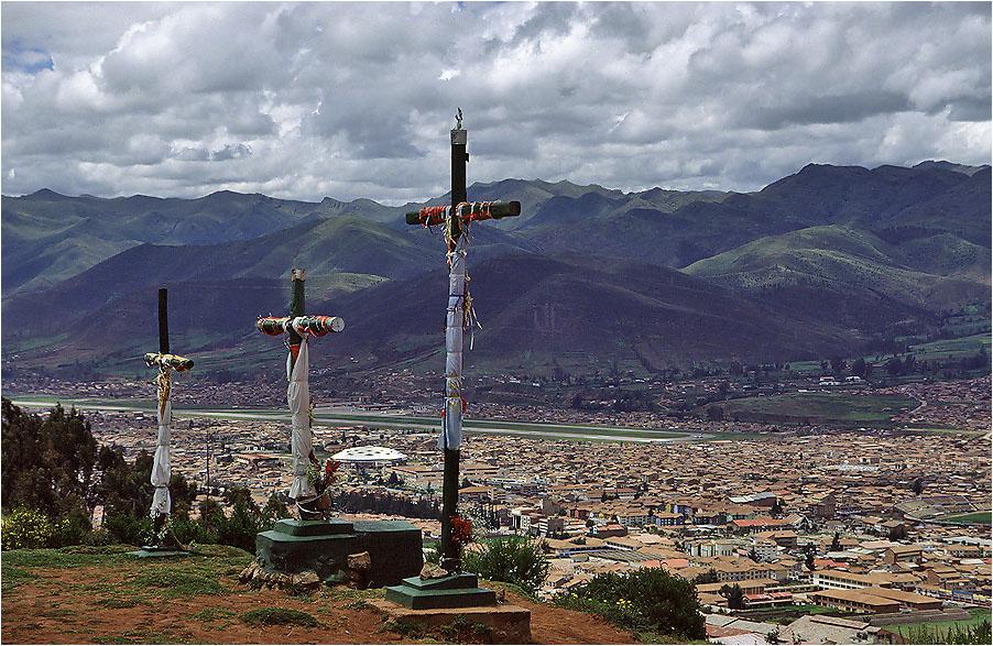 Cusco unter dem Kreuz