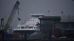 "Cuxhaven an der ""Alten Liebe"""