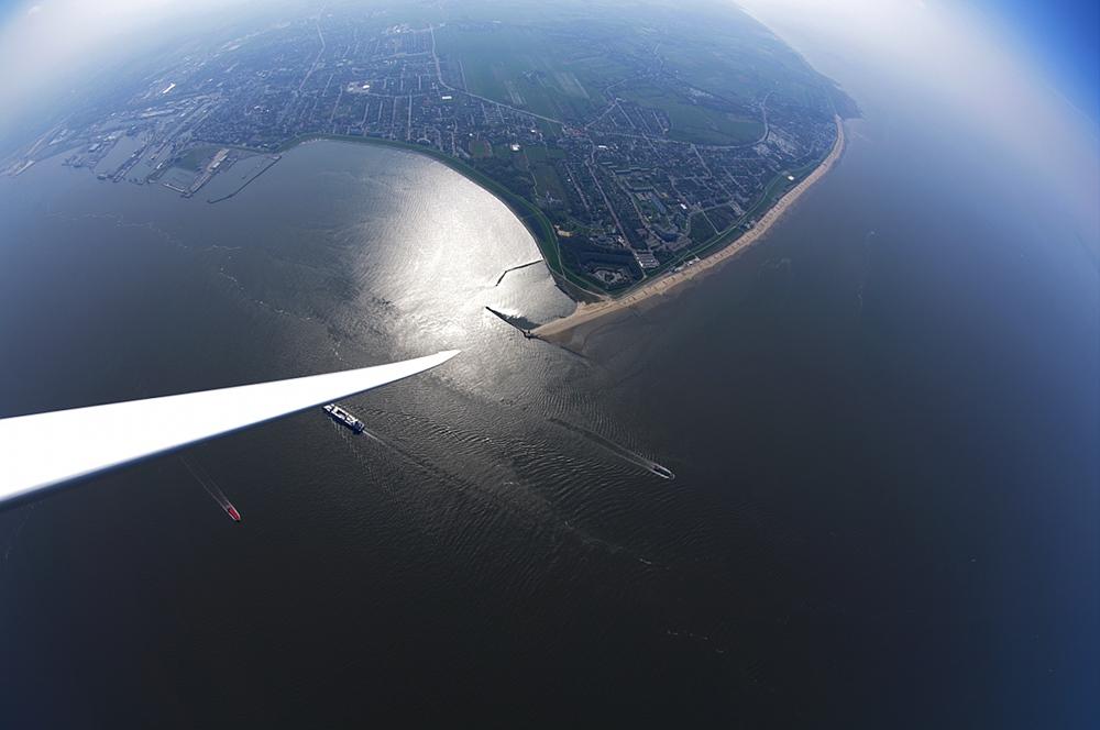 Cuxhaven aus der Luft