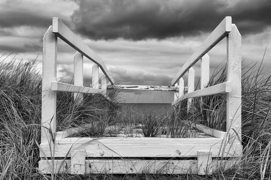 Cuxhaven - Dünenbrücke in Duhnen