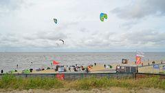 Cuxhavener Surfschule in Döse kurz vor der Kugelbake