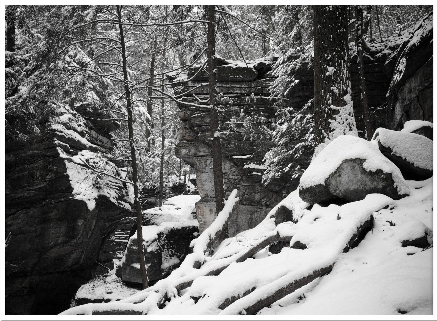 Cuyahoga Valley National Park in Winter