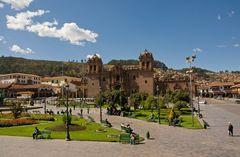 Cuzco - Plaza de Armas -1-