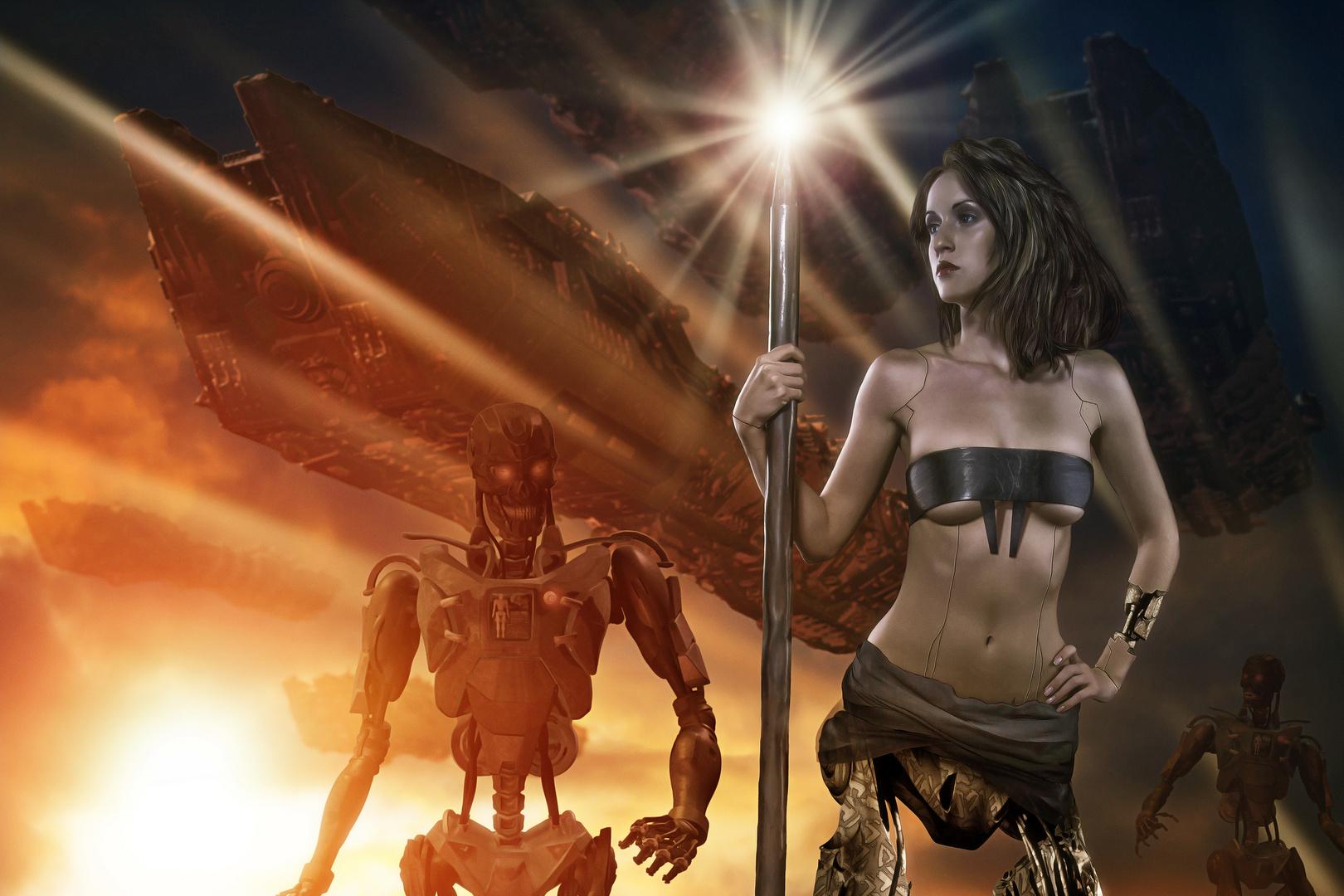 Cyber Warriors 3010 A.D.