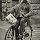 cyclist in Livorno