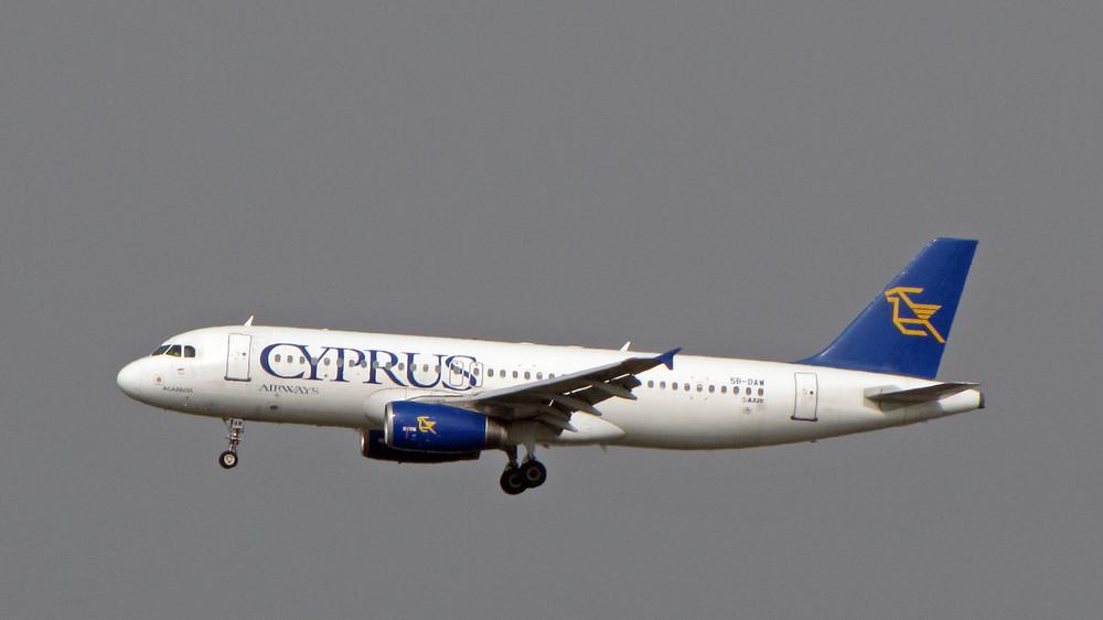 Cyprus Airways 5B-DAW Airbus A320-231