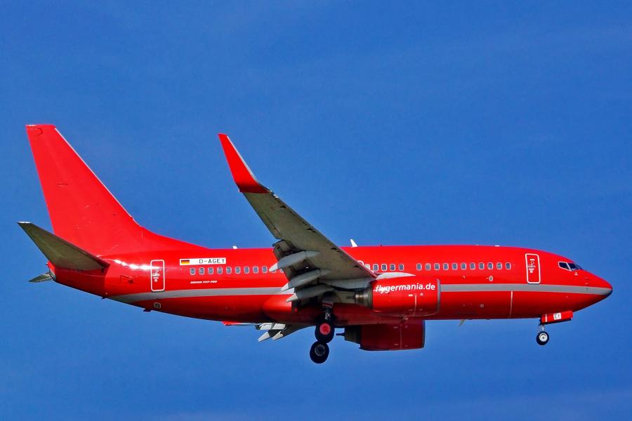 D-AGEY - Germania - Boeing 737-7L9