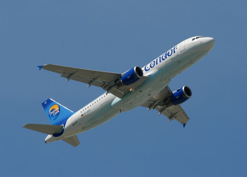 D-AICI Thomas Cook Airlines (Condor) Airbus A320-212