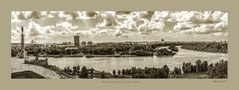 Belgrado, la desembocadura del río Sava en el Danubio by Mihajlo Vasiljevic