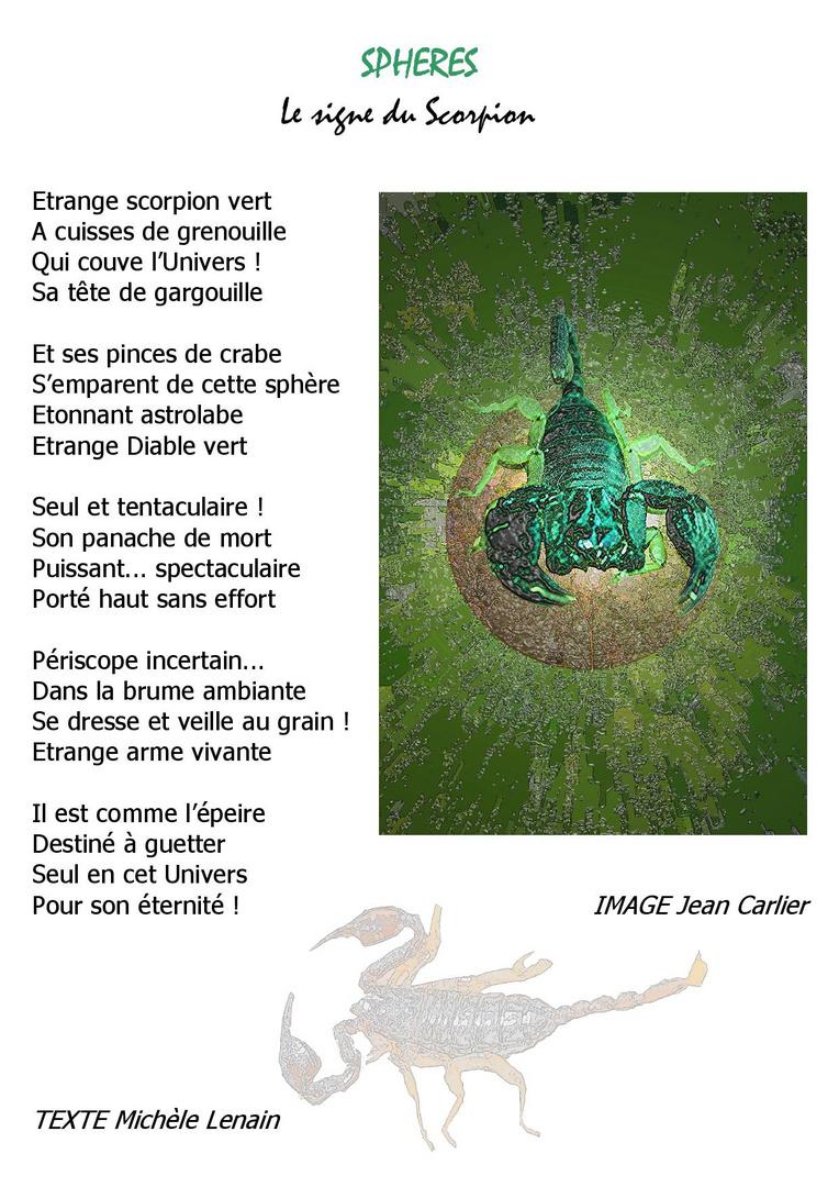 D6 SPHERES Le Signe du Scorpion
