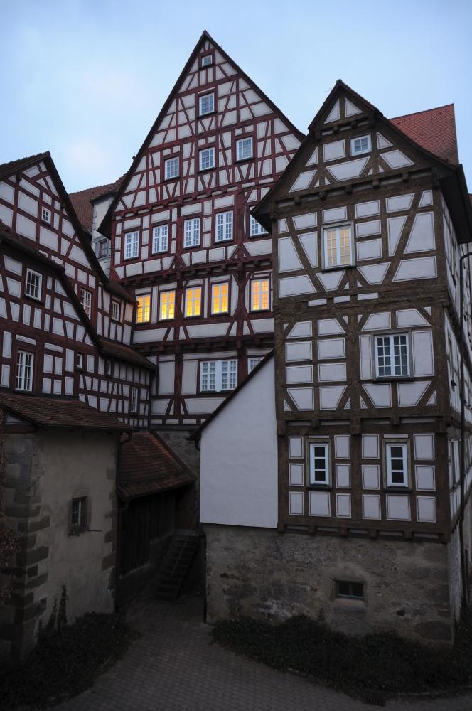 Da brennt noch Licht im Alten Schloss