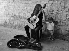 ...da grande voglio suonare la chitarra!