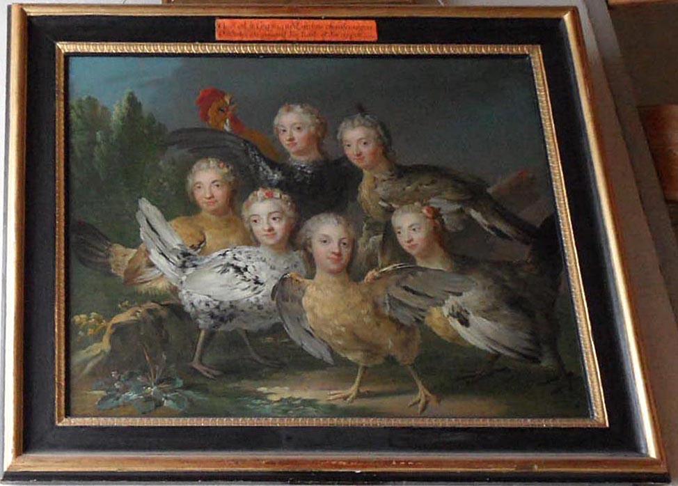 Da lachen ja die Hühner.......