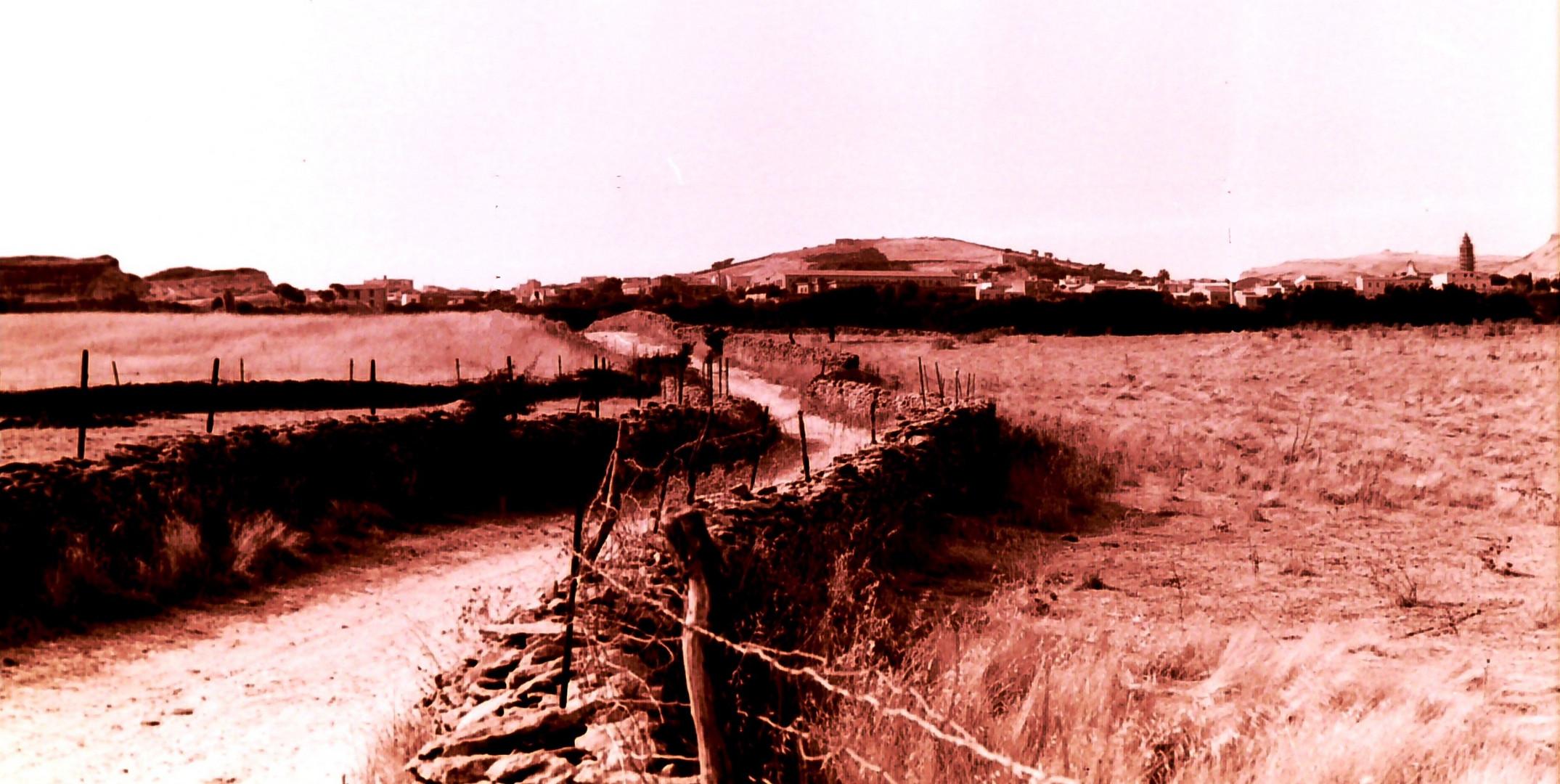 ... Da Liseu .... panorama di Ploaghe