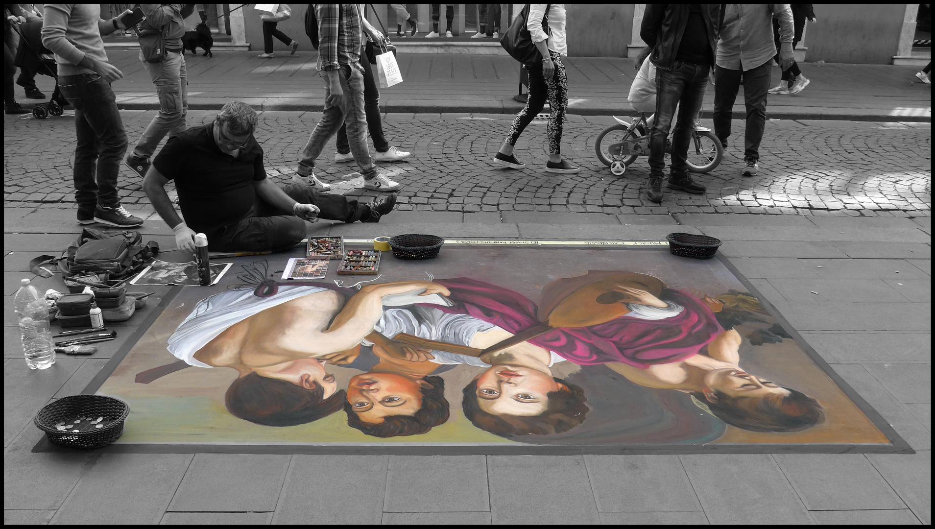 da New York a Napoli - I Musici del Caravaggio sul marciapiedi