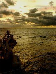 ....da qualche parte ,navigando ai tropici....
