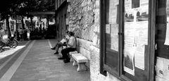 ...da seduto su una panchina...2