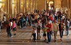 Da Vinci-Code oder nur verlaufen??---Louvre 2006