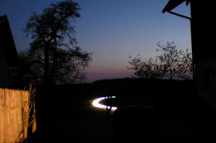 Da war die Sonne schon weg