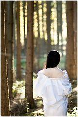 Da war ich gestern im Wald unterwegs......