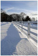 Da wo der Schnee liegt ...
