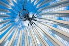 Dach Sony-Center, Potsdamer Platz, Berlin