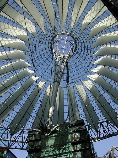 Dach Sonycenter Berlin