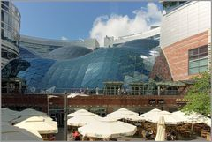 Dach vom Einkaufszentrum...