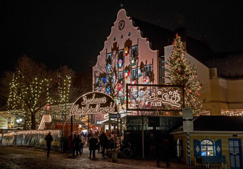 Dachau Weihnachtsmarkt.Dachauer Christkindlmarkt Foto Bild Monatswettbewerbe