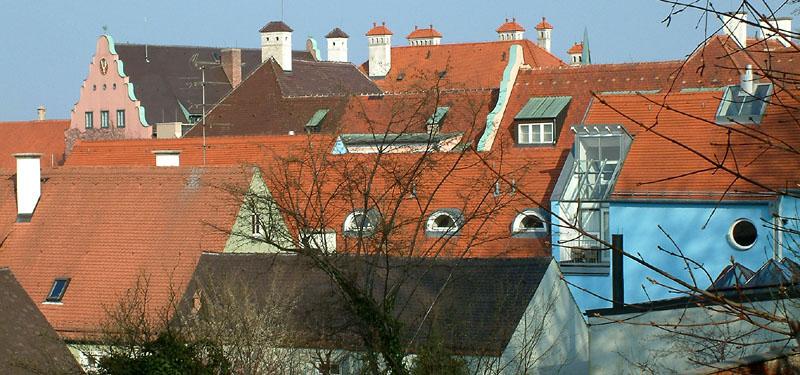 Dachauer Dachlandschaft 1