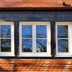 Dachfensterspiegelei