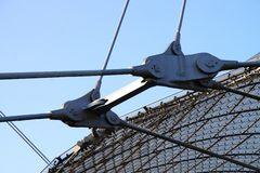 Dachhalterung am Olympiastadion München