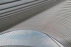 Dachkomstruktion vom Bahnhof Liège-Guillemins
