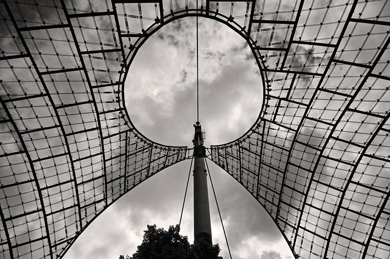 Dachkonstruktion im Olympiapark München