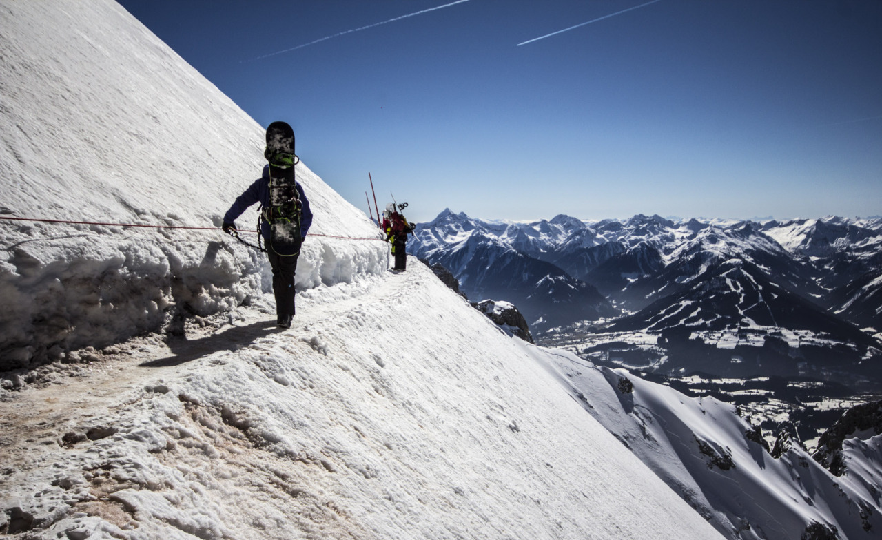 Dachstein Gletscher Foto Bild Menschen Im Schnee Schnee