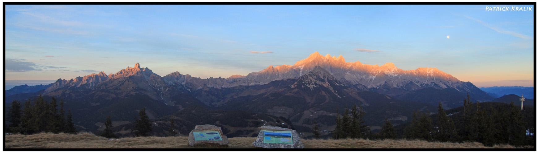 Dachsteingebirge im Salzurger Land