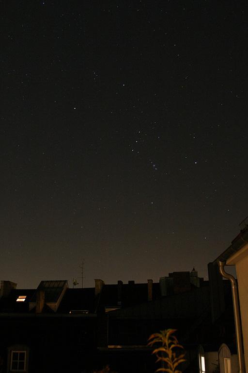 Dächer bei Nacht