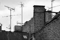 Dächer in London