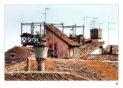 Dächer über Venedig