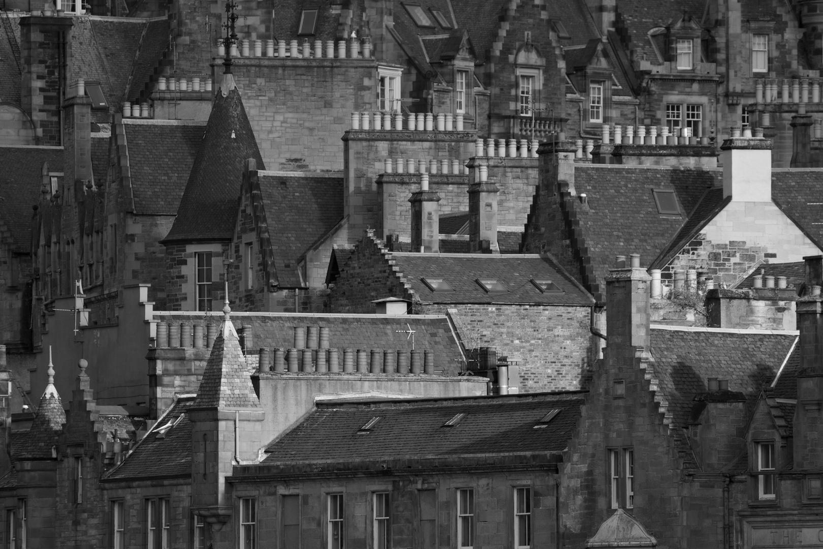 Dächer von Edinburgh