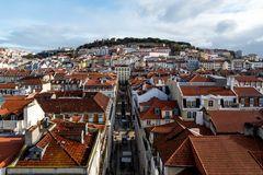 Dächer von Lissabon