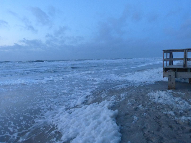 Dämmerung an der Nordsee