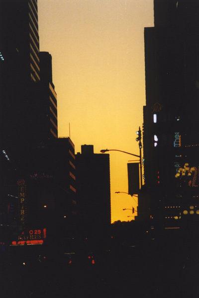 Dämmerung in Manhattan
