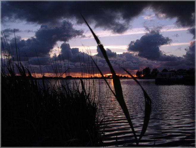 Dämmerung in NL Friesland 2005