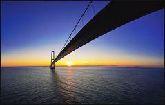 Dänemark #1 (Die Storebælt Brücke)