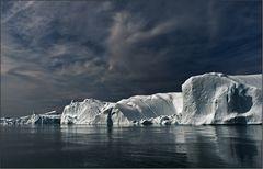 dänmmerung in der arktis