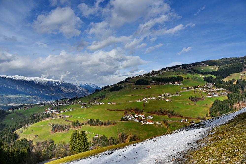 Dahingetupfte Häuschen Tiroler Bergromantik